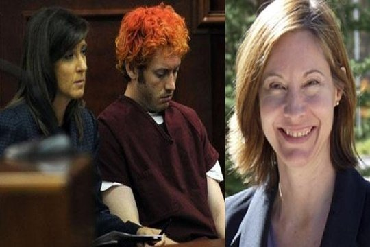 Dr Lynne Fenton told police of threatening text messages James Holmes sent after he stopped attending counseling