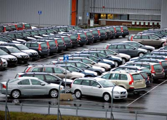 European car sales were 10.3 percent lower in March 2013 from a year earlier, the 18th consecutive month of falls