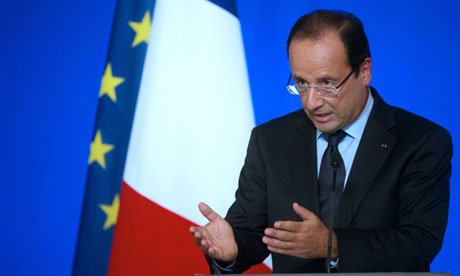 """France's President Francois Hollande has called for """"eradication"""" of the world's tax havens"""