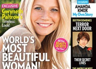 Gwyneth Paltrow received a barrage of abuse on Twitter after being crowned People magazine's Most Beautiful Woman 2013