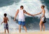 Heidi Klum, her bodyguard turned boyfriend Martin Kristen and her four children had been holidaying in Honolulu for several days over the Easter break