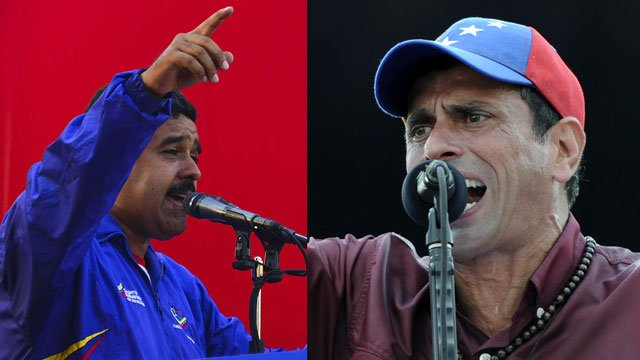 Henrique Capriles has made an official complaint against Venezuela's Acting President Nicolas Maduro for breaking the electoral law