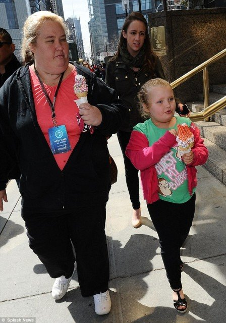 Honey Boo Boo's visit to New York got even better with a trip to the ice cream truck with mother June Shannon