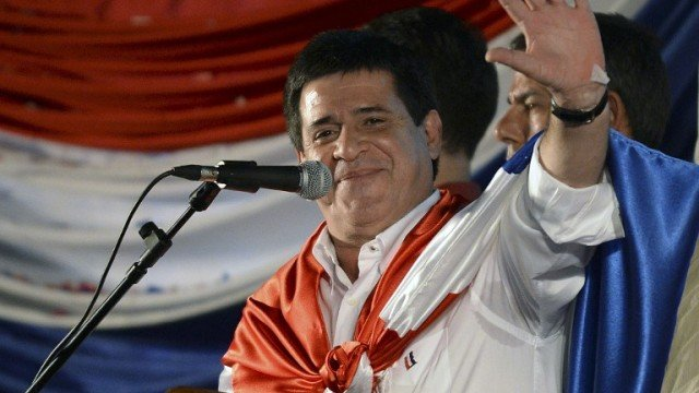 Horacio Cartes has been elected as the new president of Paraguay