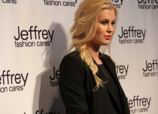 Ireland Baldwin attended the Jeffrey Fashion Cares 10th Anniversary fashion show 2013 in New York