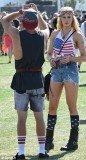 Ireland Baldwin was joined by her boyfriend Slater Trout at Coachella festival