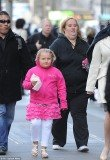 June Shannon showed off her slimmer figure and her revamped blonde hairdo on a stroll with daughter Honey Boo Boo in New York