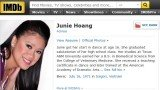 Junie Hoang, who sued Amazon after her date of birth was posted on its IMDb, has had her claim rejected by a jury in Seattle