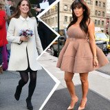 Kate Middleton and Kim Kardashian are two of the most glamorous women in the world and each will give birth to her first child in July