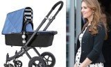 Kate Middleton, who is six months pregnant, told guests at a recent reception that she bought a Bugaboo pram in light blue