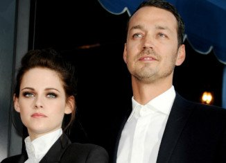 Kristen Stewart has been seen getting into a car with man who appears to be her former lover Rupert Sanders