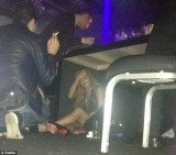 Last week Lindsay Lohan was spotted hiding under a table on the dirty floor of a Sao Paolo nightclub with her head in her hands