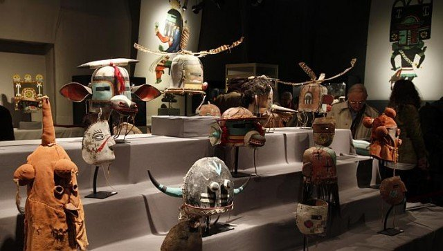 Lawyers for the Hopi tribe had asked for Paris auction to be cancelled on the grounds that the 70 masks must have been stolen from the tribe