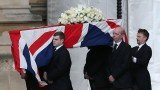 Margaret Thatcher's coffin will travel from Westminster and be taken in procession through central London for the funeral at St Paul's Cathedral