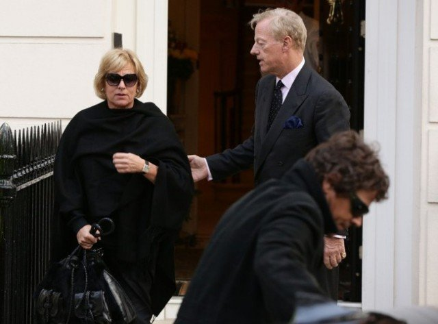 Margaret Thatcher's twins, Mark and Carol, met at her home to make final arrangements for the funeral