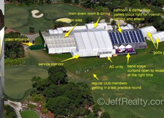 Michael Jordan married Yvette Prieto on April 27, in a jaw-dropping 40,000 sq ft wedding tent in Palm Beach