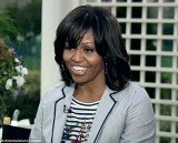 Michelle Obama has admitted that she is already tired of her bangs she debuted in January