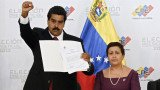 Nicolas Maduro has been formally proclaimed by Venezuela's election authority as the winner of Sunday's closely-fought presidential election