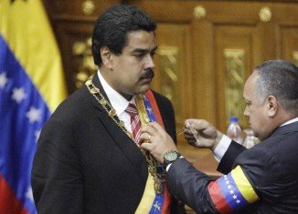 Nicolas Maduro has been sworn in as Venezuela's new president, succeeding the late Hugo Chavez who died of cancer last month
