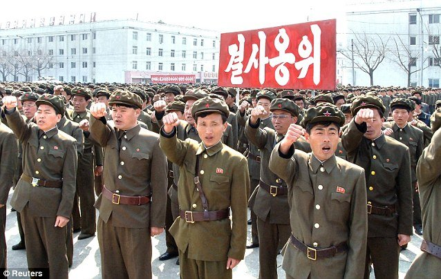 "North Korea has announced today that its army had received final approval to launch ""merciless"" nuclear strikes against the US"