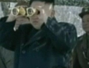 "North Korea has released footage showing its leader Kim Jong-un supervising a ""drone drill"" attack amid tensions on the Korean peninsula"