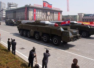 "North Korea has shifted a missile with ""considerable range"" to its east coast"