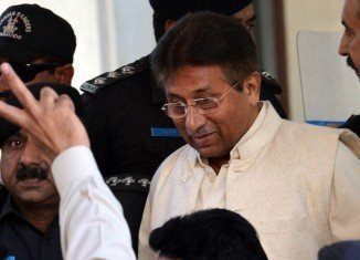 Pervez Musharraf has been arrested and will be held under house arrest in Islamabad for two days