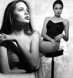 Pictures of Angelina Jolie, taken when she was a 16-year-old model, reveal how much her body has changed since she became a star