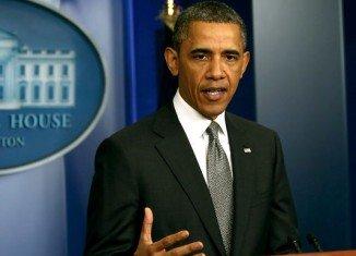 President Barack Obama has condemned the Boston Marathon bombings as a terrorist act