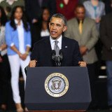 President Barack Obama made an emotional plea as he urged lawmakers to vote on gun control legislation that appears to be stalling in Congress