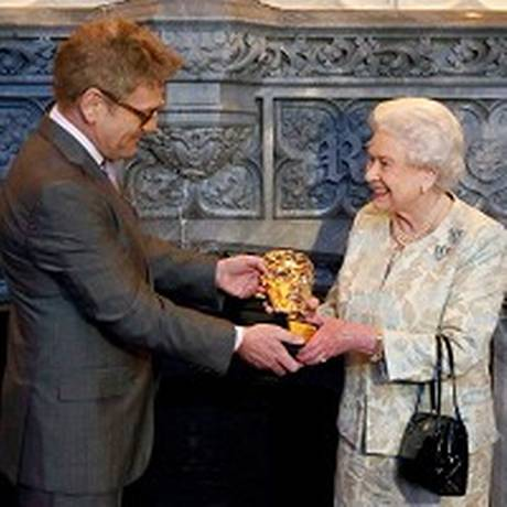 Queen Elizabeth II has received an honorary BAFTA award for her lifelong support of the British film and television industry