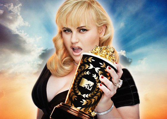 Rebel Wilson won Breakthrough Performance Award at MTV Movie Awards 2013 for Pitch Perfect