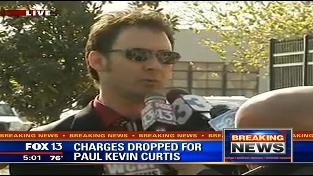 Ricin suspect Paul Kevin Curtis has been released from jail as the US authorities have dropped the charges against him photo