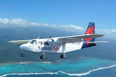 Samoa Air boss Chris Langton defends the airline's decision to start charging passengers according to their weight