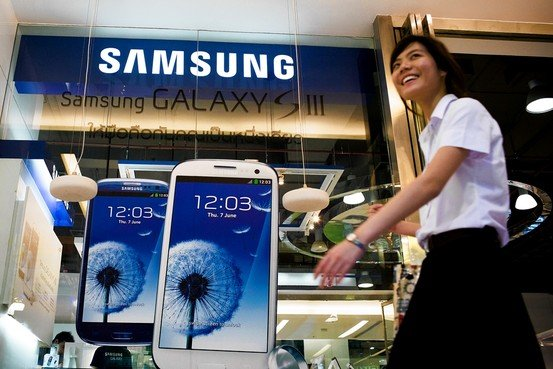 Samsung Electronics has reported a record quarterly profit in the first three months of 2013, boosted mainly by growing sales of its smartphones