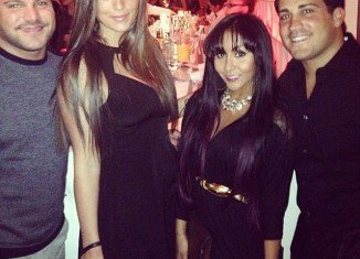 Snooki showed off her 42 lb weight loss the WWE Superstars for Sandy Relief at Cipriani in New York City
