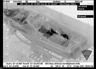 State-of-the-art thermal imaging cameras helped police track Dzhokhar Tsarnaev while he hid on David Henneberry's boat in Watertown