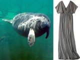 Target has apologized for labeling a plus-sized dress Manatee Gray