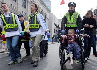 The Boston Marathon bombing on April 15 killed three and injured more than 200, 48 of whom were still in hospital, three in a critical condition