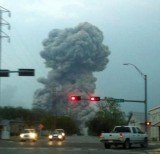 The blast at the plant in West, close to Waco, at 7.50 p.m. (CST) on Wednesday left fires burning as a three-mile radius around the blast zone was evacuated amid fears of a secondary explosion