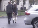 Two women, one of them thought to be Dzhokhar Tsarnaev's girlfriend, and one man, were apprehended from the Hidden Brook Apartments on Carriage Drive in New Bedford
