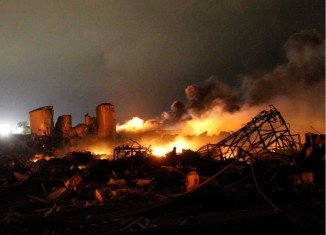 Up to 15 people are thought to have been killed by the huge explosion at West fertilizer plant near Waco, Texas
