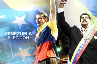 Venezuela's Acting President Nicolas Maduro, chosen by Hugo Chavez as his successor, is running against Henrique Capriles Radonski, currently governor of Miranda state