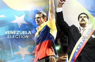 Venezuela's Acting President Nicolas Maduro, chosen by Hugo Chavez as his successor, is running against Henrique Capriles Radonski, currently governor of Miranda state
