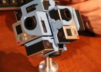 360Heros camera mounts can hold up to six GoPro cameras