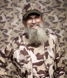 A Vietnam War veteran, Uncle Si Robertson often shares his war stories with the guys in reality show Duck Dynasty