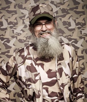 Vietnam War veteran, Uncle Si Robertson often shares his war stories