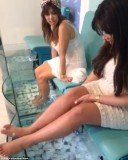A fish pedicure in Greece left Kim Kardashian screaming in horror
