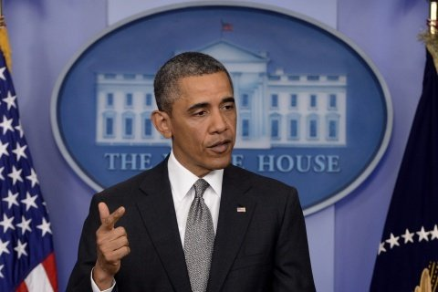 A suspicious letter sent to President Barack Obama was intercepted by the Secret Service