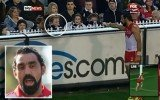 Adam Goodes ran past racist girl and responded by turning around and pointing out her to security who escorted her from the Melbourne stadium